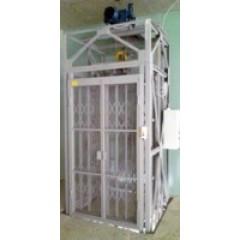 Грузовой подъемник CMInd-К2-500-1000x1100x2000