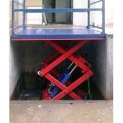Стол подъемный гидравлический CMInd-СПГ-1000-1000x1500x1500