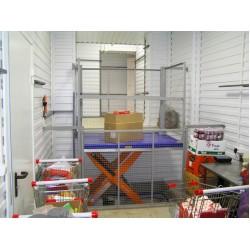 Стол подъемный гидравлический CMInd-СПГ-1000-1500x1000
