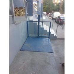Гидравлическая платформа для склада CMInd-СПГ-1000-1500x1500