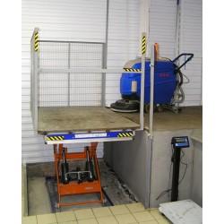Стол подъемный гидравлический CMInd-СПГ-1500-1200x1600