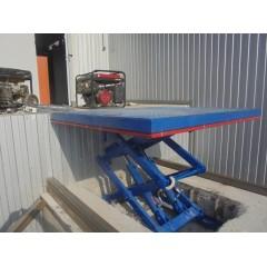 Гидравлическая платформа для склада CMInd-СПГ-1500-1500x1500