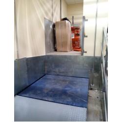 Гидравлическая платформа для склада CMInd-СПГ-700-1000x1000