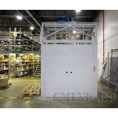 Грузовой подъемник для склада CMInd-K2-2000-2100X1700X2200