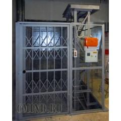 Платформенный грузовой подъемник CMInd-П2-1000-1000x1400x2000