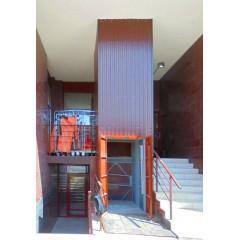 Платформенный грузовой лифт CMInd-П2-1000-1020x1420x2100