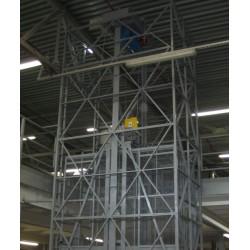 Грузовой подъемник для склада CMInd-К2-1600-1400х2700