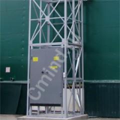 Грузовой шахтный подъемник CMInd-К2-500-1200х1200х1800