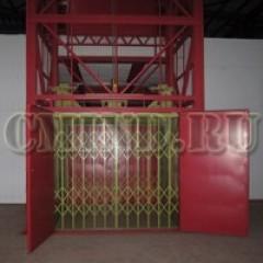 Грузовой подъемник CMInd-К3-2400-2300x2300x2000