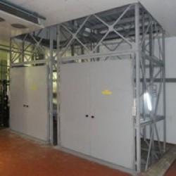Комплекс грузовых лифтов CMInd-К3-3000-2400х1900х2500