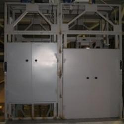 Грузовые подъемники ПГКС-К5-500-1200x1500 и ПГКС-К5-250-1000x1400