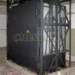 Шестиуровневый грузовой подъемник CMInd-К6-2000-2500х1500х2600