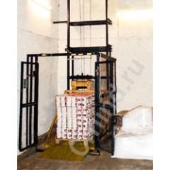 Грузовой мачтовый подъемник CMInd-П2-500-1000x1400