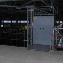 Грузовой мачтовый подъемник CMInd-П3-500-1200x1500