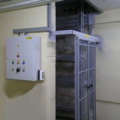 Грузовой мачтовый подъемник CMInd-П2-1000-950x1400