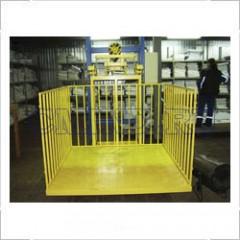 Грузовой мачтовый подъемник CMInd-П2-500-1500x1500
