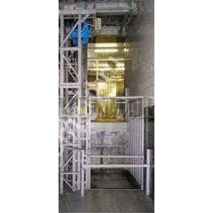 Грузовой мачтовый подъемник CMInd-П2-1000-1200x1500