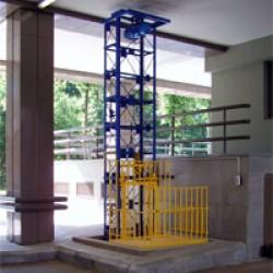 Мачтовый грузовой подъемник CMInd-П2-250-1000х1500