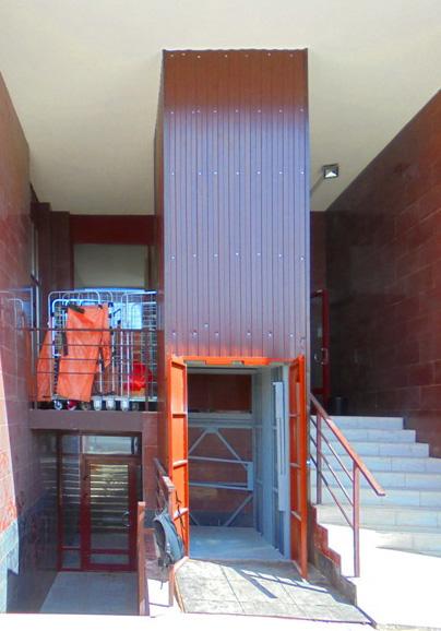 Мачтовый грузовой лифт CMInd-П2-1000-1020x1420x2100