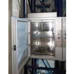 Проектирование и производство малых сервисных лифтов для ресторанов и гостиниц.