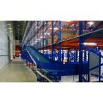 Конвейерная линия на складе оптово-розничной торговой компании