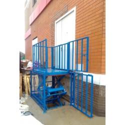 Стол подъемный гидравлический CMInd-SPG-1000-1000x1500