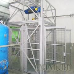 Шахтный подъемник CMInd-K2-1000-1800x1800x2000