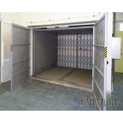 Грузовой подъемник CMInd-К2-1000-2600x2200x2000