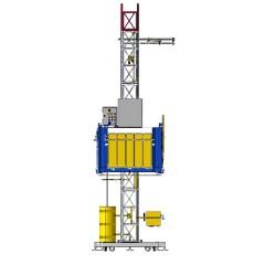 Строительный грузовой подъемник Salerno Ponteggi MT1000 T