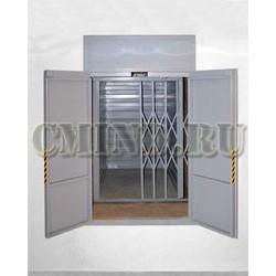 Лифт грузовой малый для ресторана CMInd-К2-150-800х1200х1200