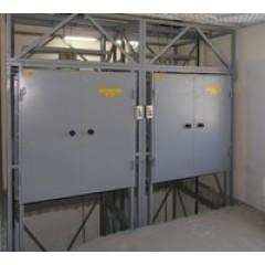 Комплекс шахтных подъемников  2xCMInd-К2-250-1200х1200х1200
