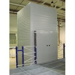 Грузовой подъемник для склада CMInd-К3-1400-2000x2000x2000