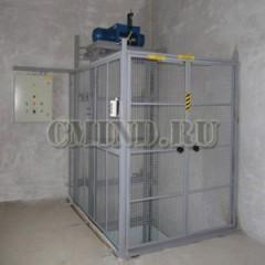 Грузовой мачтовый подъемник CMInd-П2-500-1300x1400